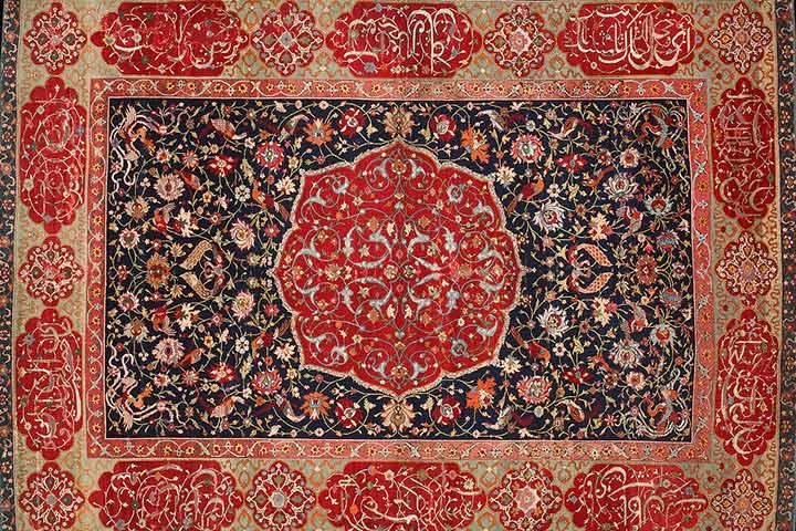 فرش ایرانی بیانگر هنر صفوی