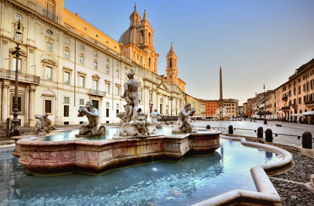 آب نماهای شهر رم