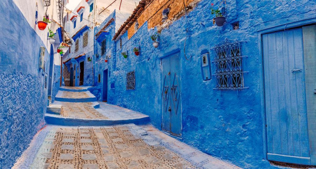 مراکش دیوار آبی